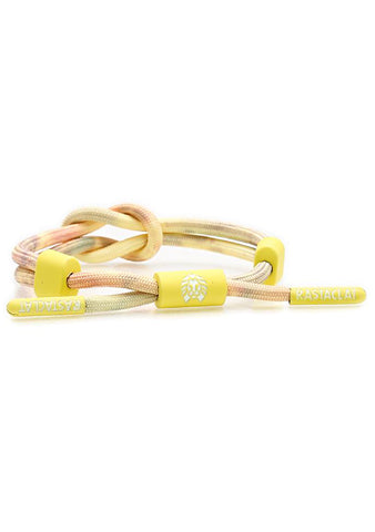 Desert Haze Miniknot Journey Bracelet in Yellow/Purple