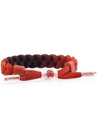 Translucid Fired Edges Classic Bracelet in Red Black