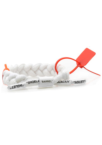 OFF-CLAT Bracelet in White