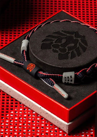 Zone Bracelet Box Set in Black Grey Red