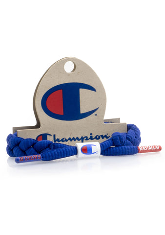 Rastaclat X Champion Bracelet in Blue