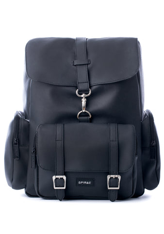 Spiral Chelsea City Backpack in Black