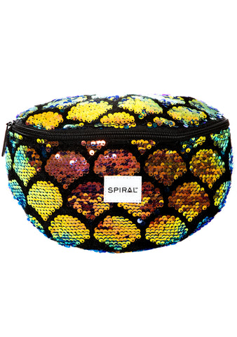 Shell Sequins Bum Bag by Spiral