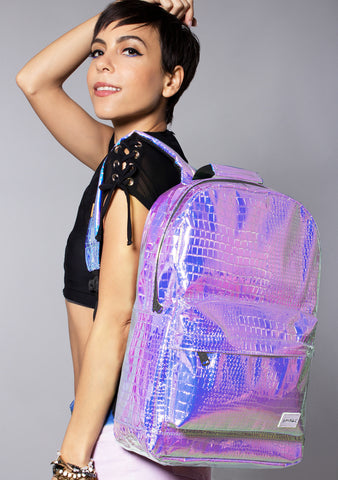 Mermaid Sea Queen Backpack in Blue Atlantis