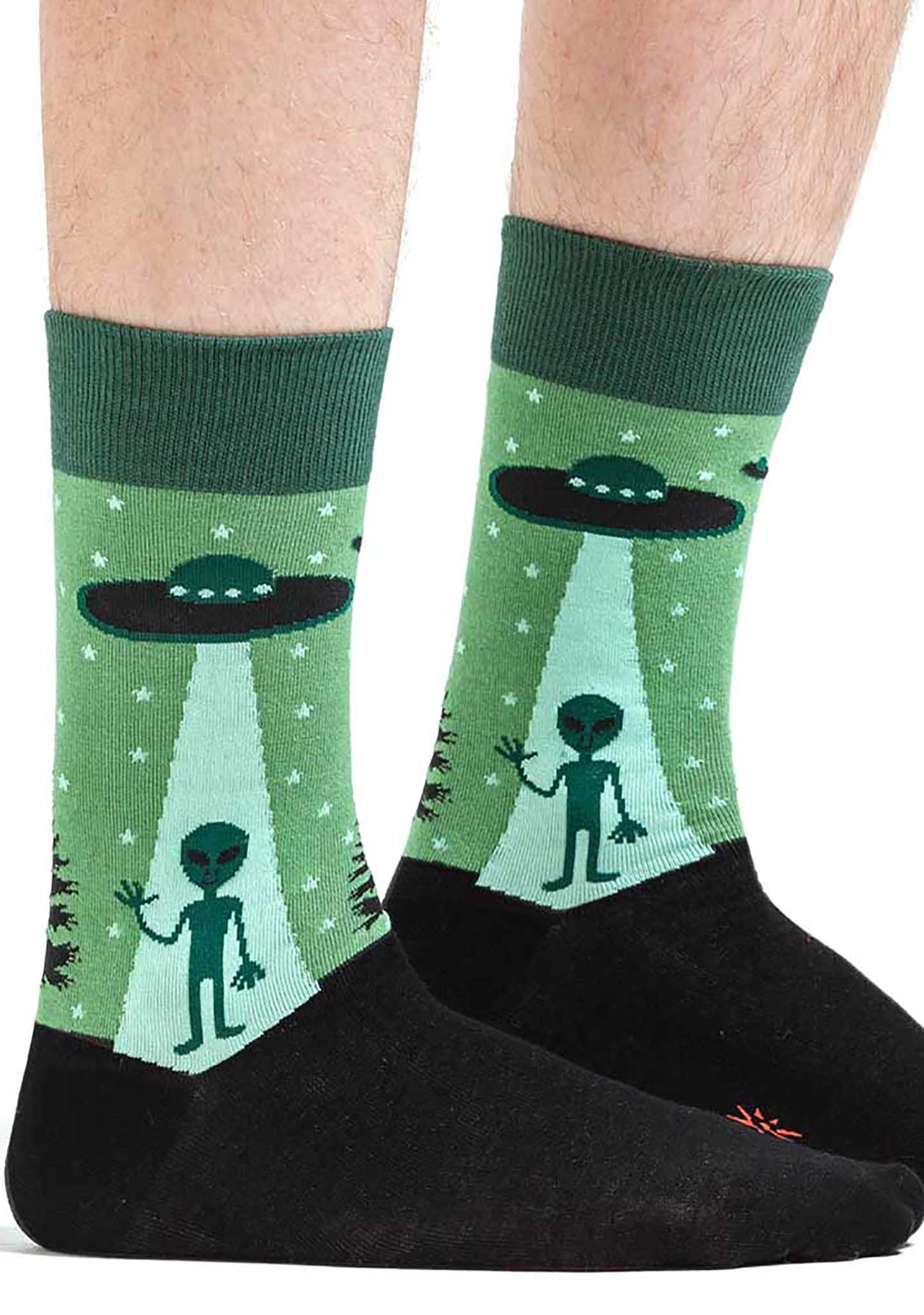 Sock It To Me I Believe Crew Socks for Men