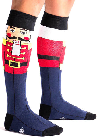Sock It To Me Nutcracker Knee High Socks