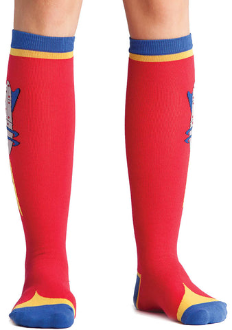 Sock It To Me Raygun Knee High Socks