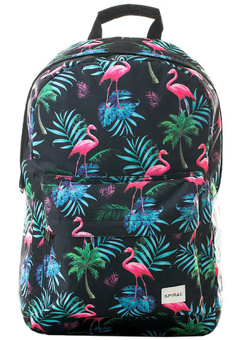 Tropical Flamingo Backpack by Spiral