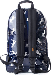 Shiny Unicorn Festival Backpack in Midnight Blue by Spiral