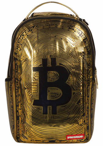 Bitcoin Bag in Gold
