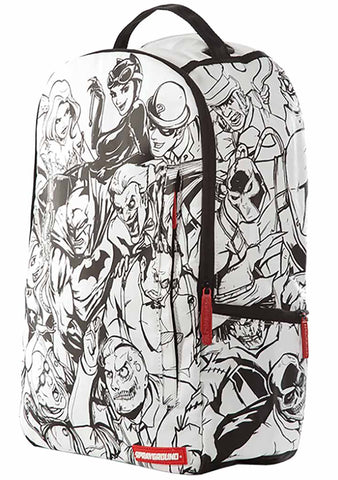 X DC Comics DIY Villains Backpack