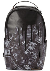 Blackout Money Drips Backpack