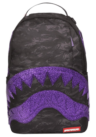 Glitter Shark Backpack