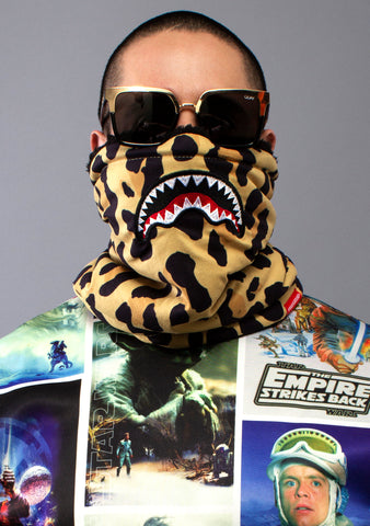 SPRAYGROUND Leopard Mouth Neck Warmer