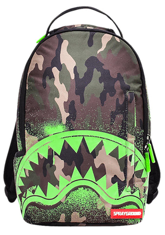 Lil Camo Glow In The Shark Mini Backpack