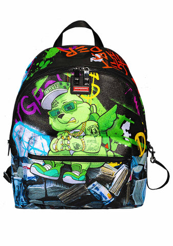 Money Bear Stacks Backpack