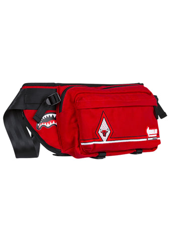 NBALAB Chicago Bulls Diamond Red Crossbody Waist Bag Fanny Pack