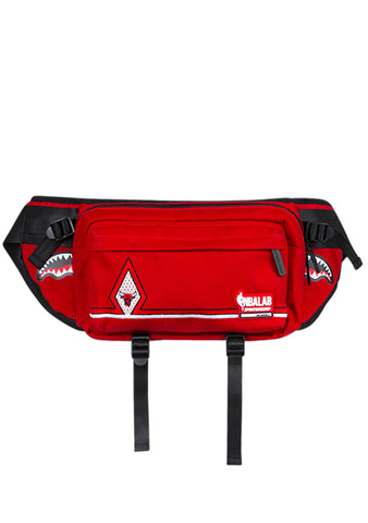SPRAYGROUND NBALAB Chicago Bulls Diamond Red Crossbody Waist Bag Fanny Pack
