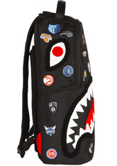 NBALAB Teams Shark Backpack in Black/Multi