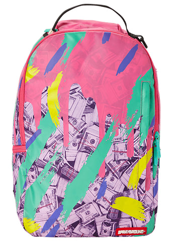 Pink Camo Money Drip Backpack