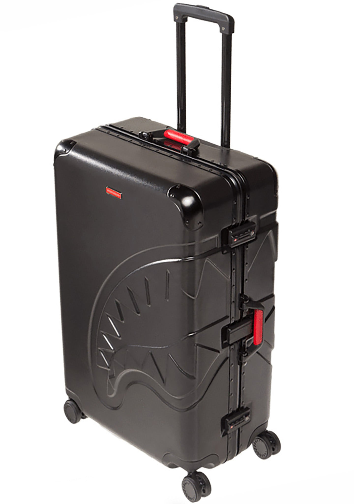 "Embossed Black Shark 29"" Carry-On Roller Luggage"
