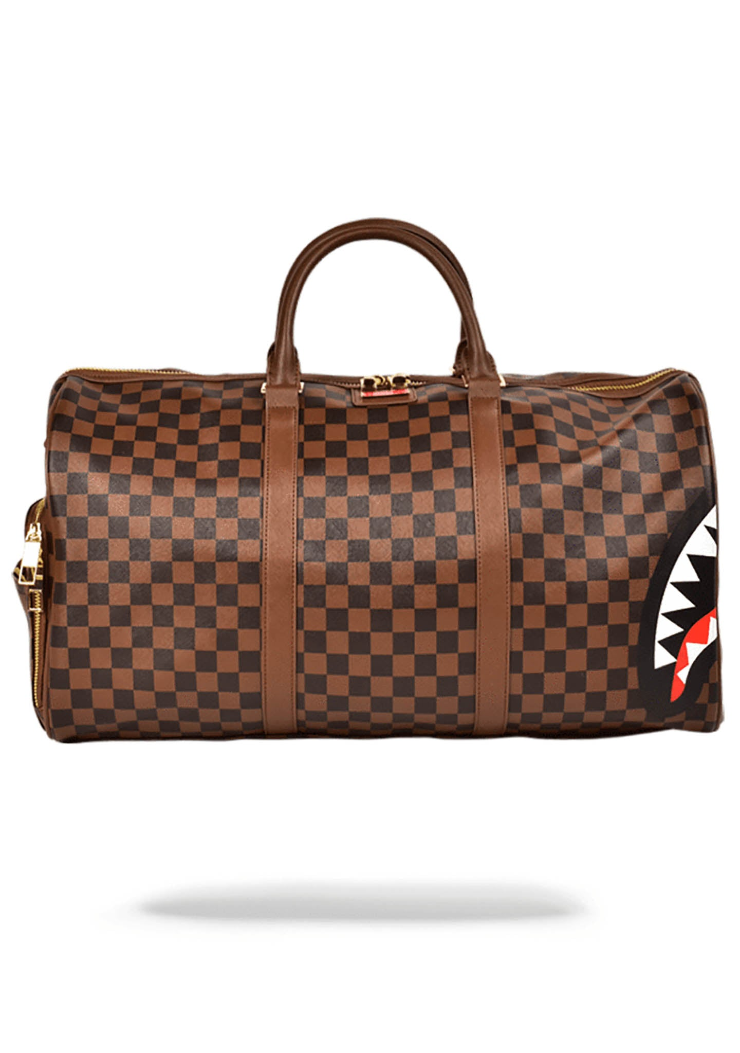 SPRAYGROUND   Shop Sprayground Sharks in Paris Duffle Bag in Brown ... 0eeae54dc4