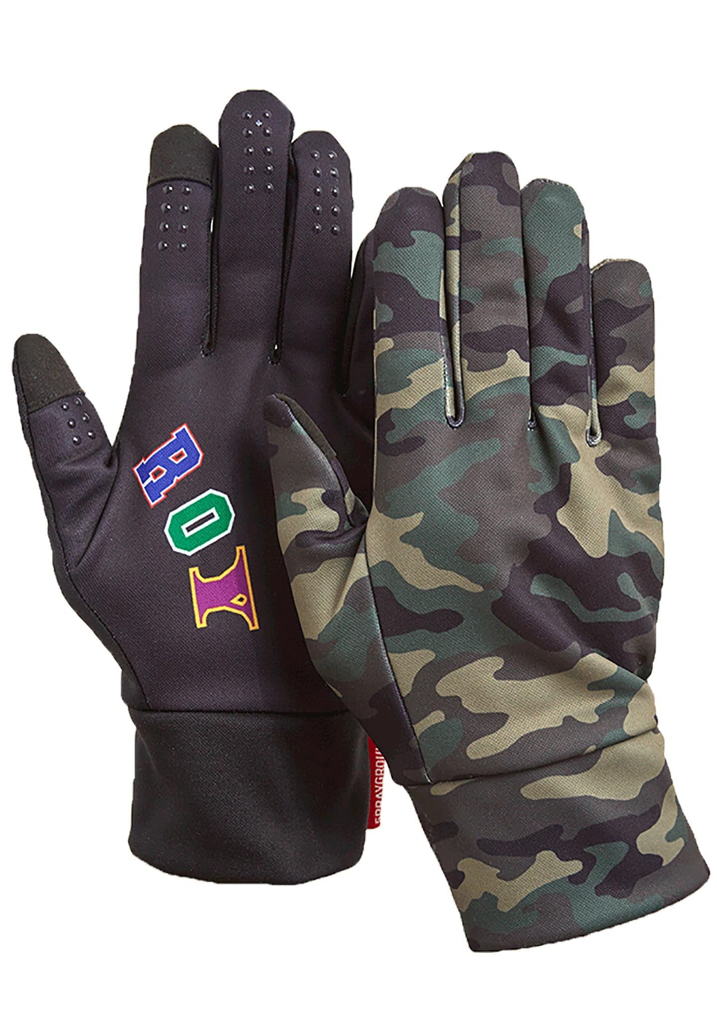 Split Destroy Gloves Sizes L and XL in Camo/Black