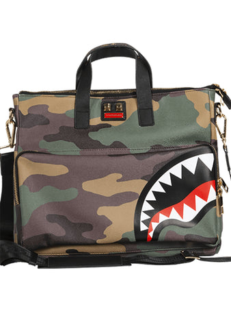 Woodland Green Camo Print Travel Case