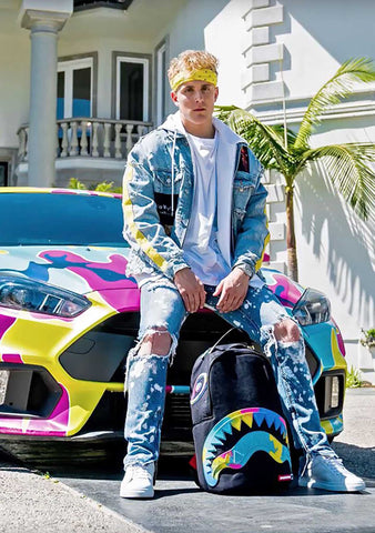 X Jake Paul Rainbros Backpack