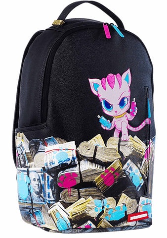 X Saweetie Kitten Money Stacks Backpack