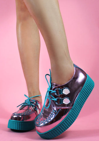 Strange Cvlt Krypt Kreeper Mermaid Sneakers