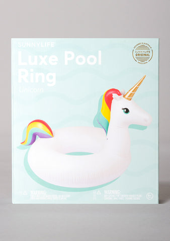 Luxe Unicorn Pool Ring