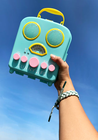 Beach Sounds Seafoam Bluetooth Speaker