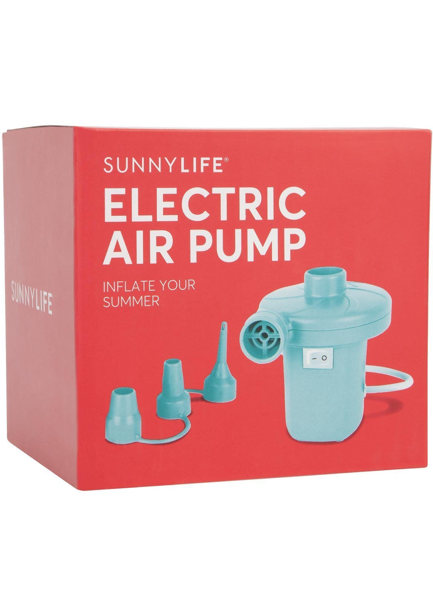 Sunnylife Electric Air Pump in Royal Turquoise