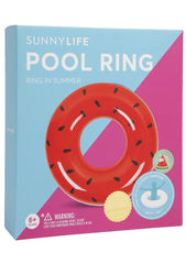 Sunnylife Watermelon Pool Ring Float