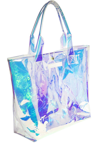 Market Tote Bag Iridescent