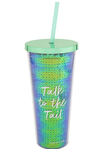 Sunnylife Deep Sea Mermaid Tumbler Cold Cup