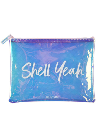 Mermaid See Thru Pouch