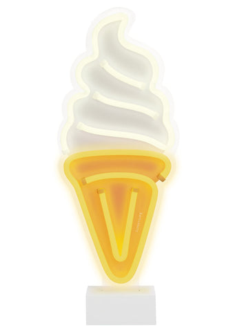 LED Soft Serve Neon Light