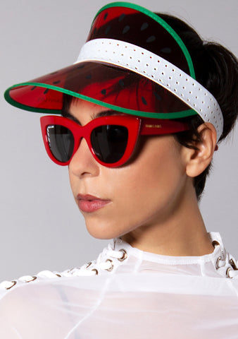 Sunnylife Watermelon Retro Sun Visor