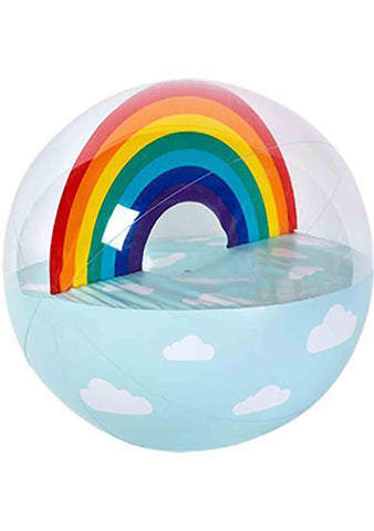 Sunnylife Rainbow Inflatable Beach Ball XL