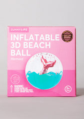 3D Mermaid Inflatable Beach Ball