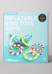 Inflatable Mermaid Ring Toss Game