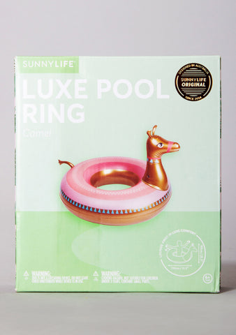 Luxe Camel Pool Ring