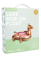 Luxe Ride-on Camel Float