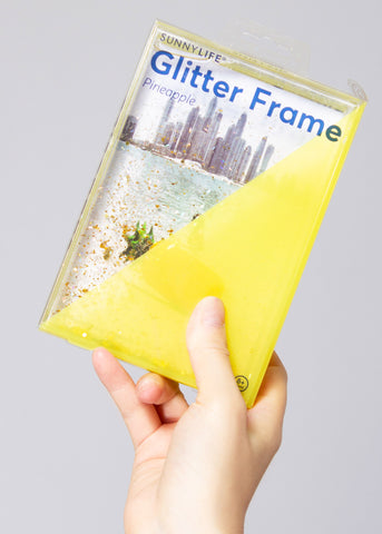 Pineapple Glitter Picture Frame