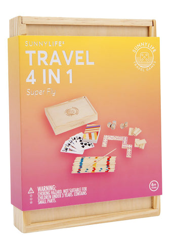 Travel 4 in 1 Super fly Portable Game Set