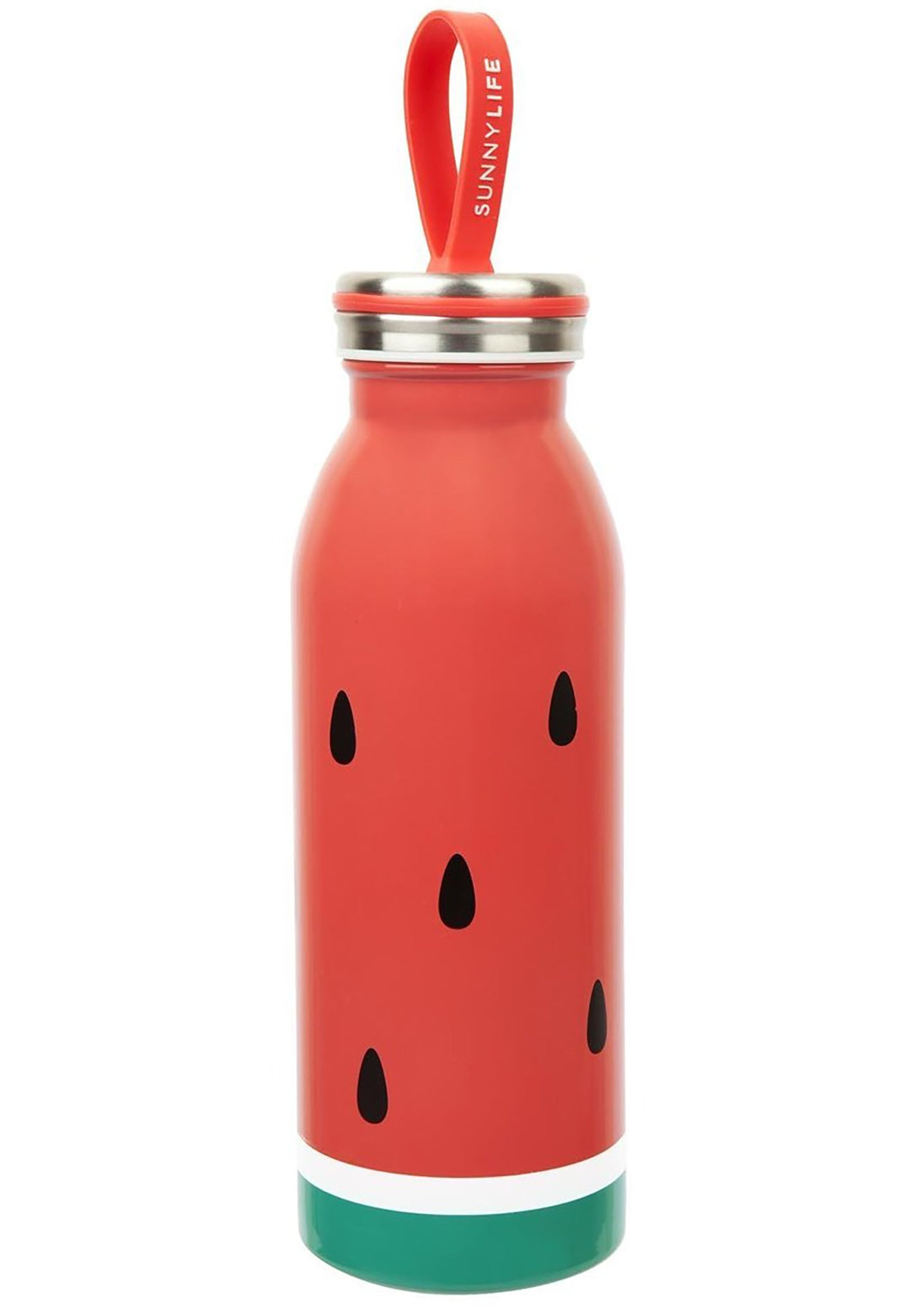 Watermelon Flask in Red/Green
