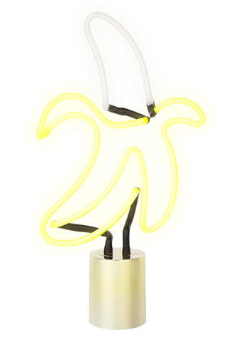 Large Banana Neon Light