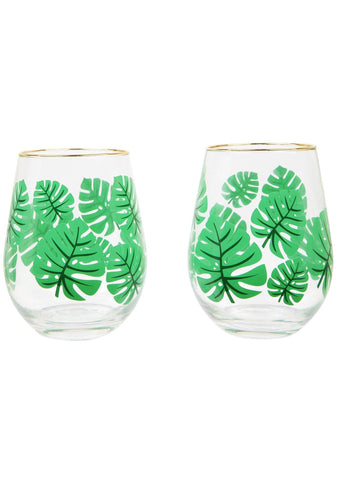Sunnylife Monteverde 2PC Cocktail Glasses